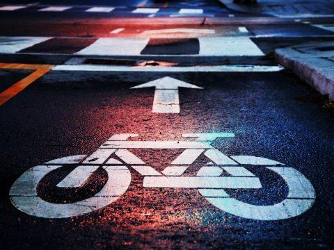 bike traffic lane