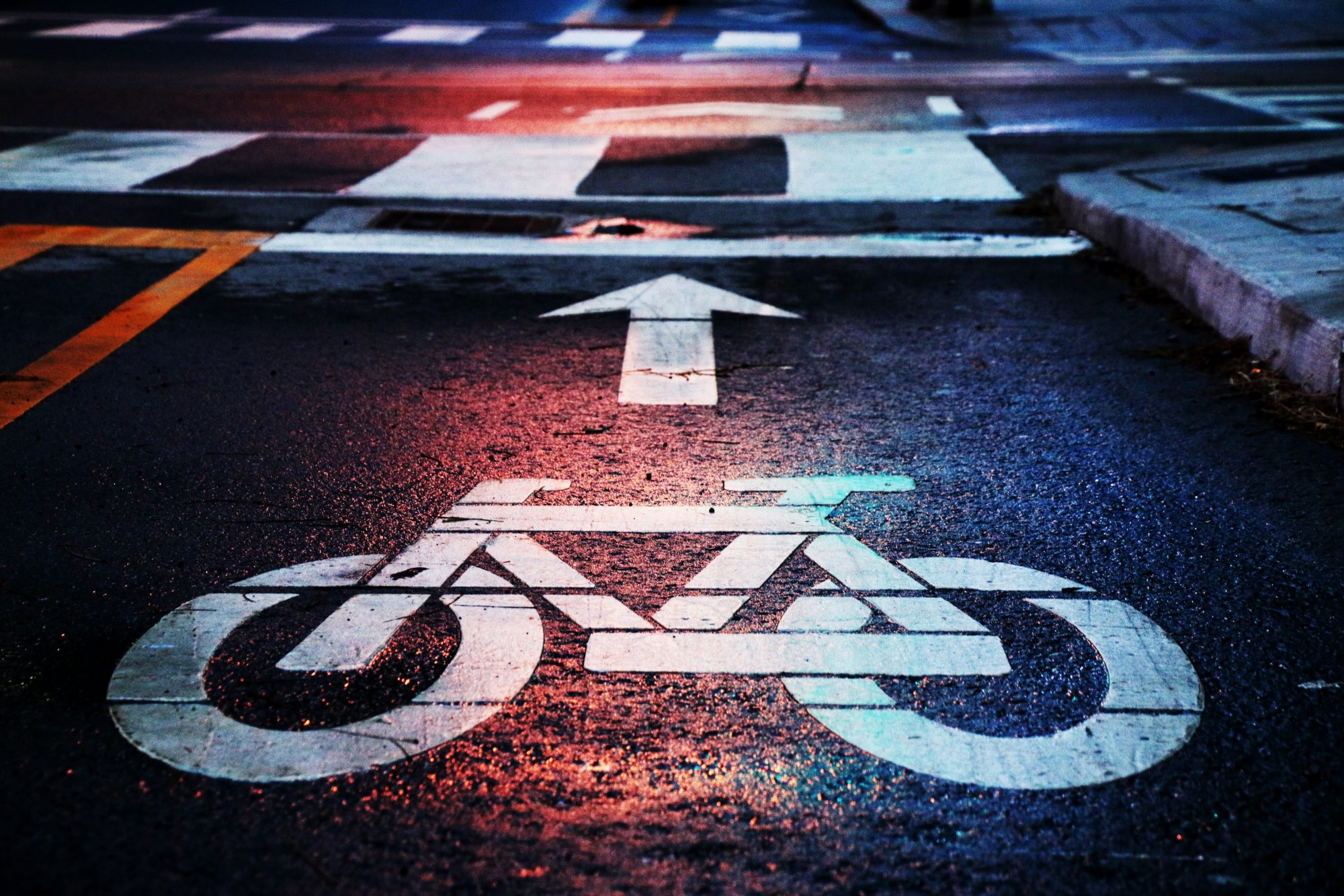 bike traffic lane
