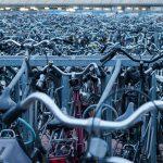 lots of bikes